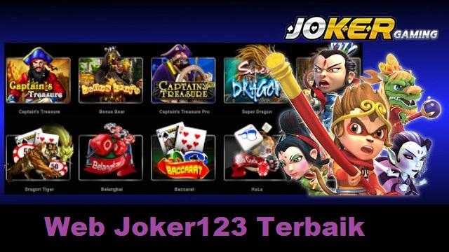 Web Joker123 Terbaik